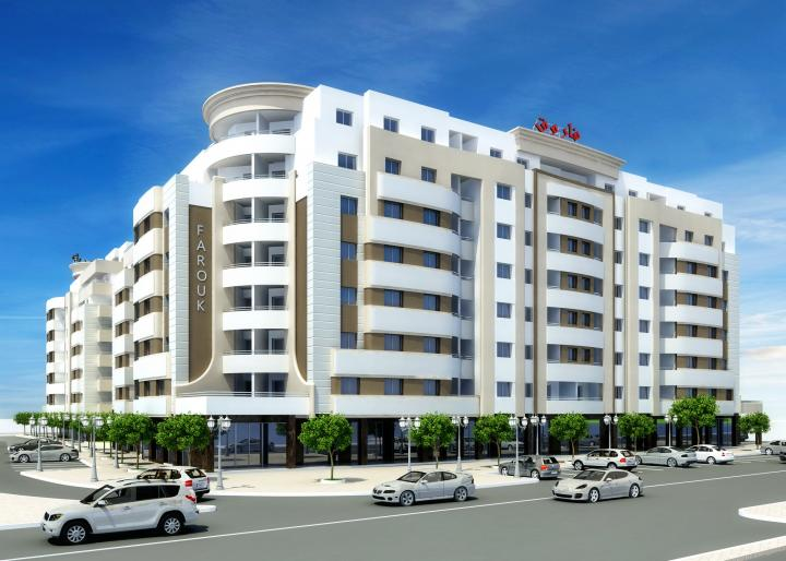 Résidence FAROUK,agence immobiliere tunisie,agence immobiliere